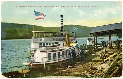 Milford Steamship, Greenwood Lake, NY, Waterstone Inn, Milford