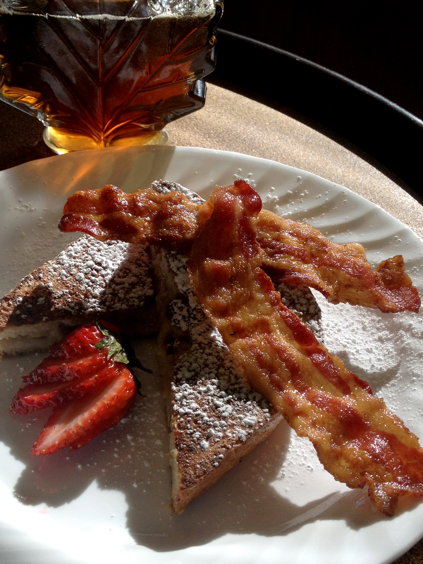 Stuffed French Toast, The Waterstone Inn